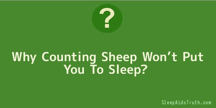 Why Counting Sheep Won't Put You To Sleep