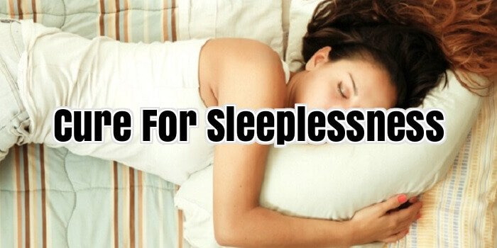 Cure For Sleeplessness